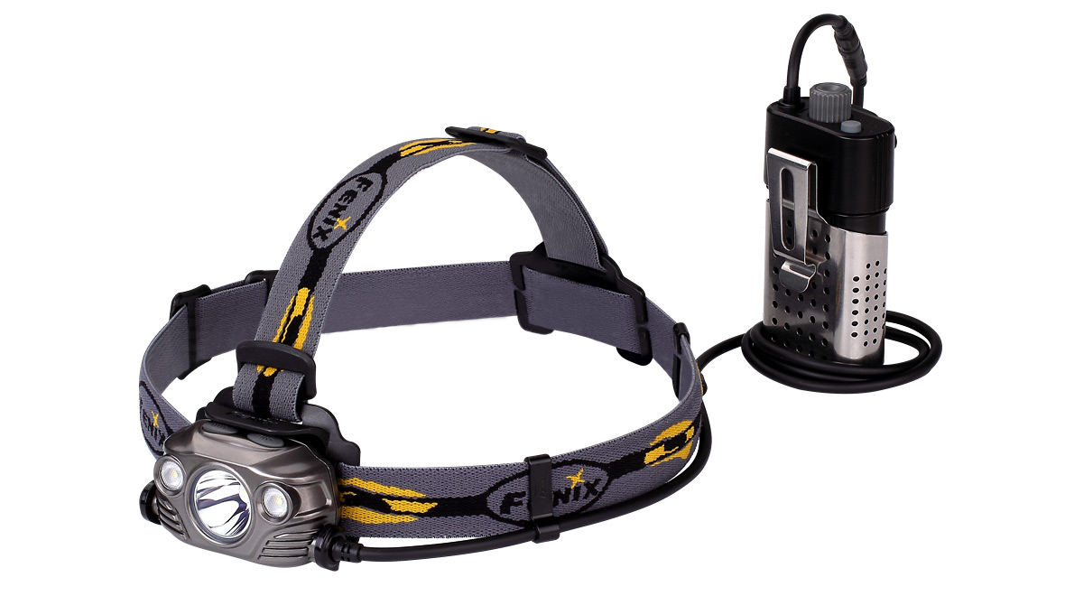 Nabíjecí LED čelovka Fenix HP30R