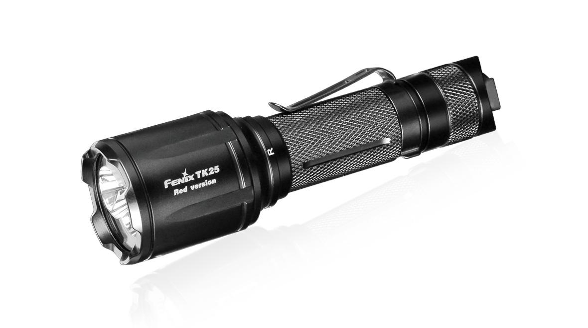 Taktická LED svítilna Fenix TK25 Red