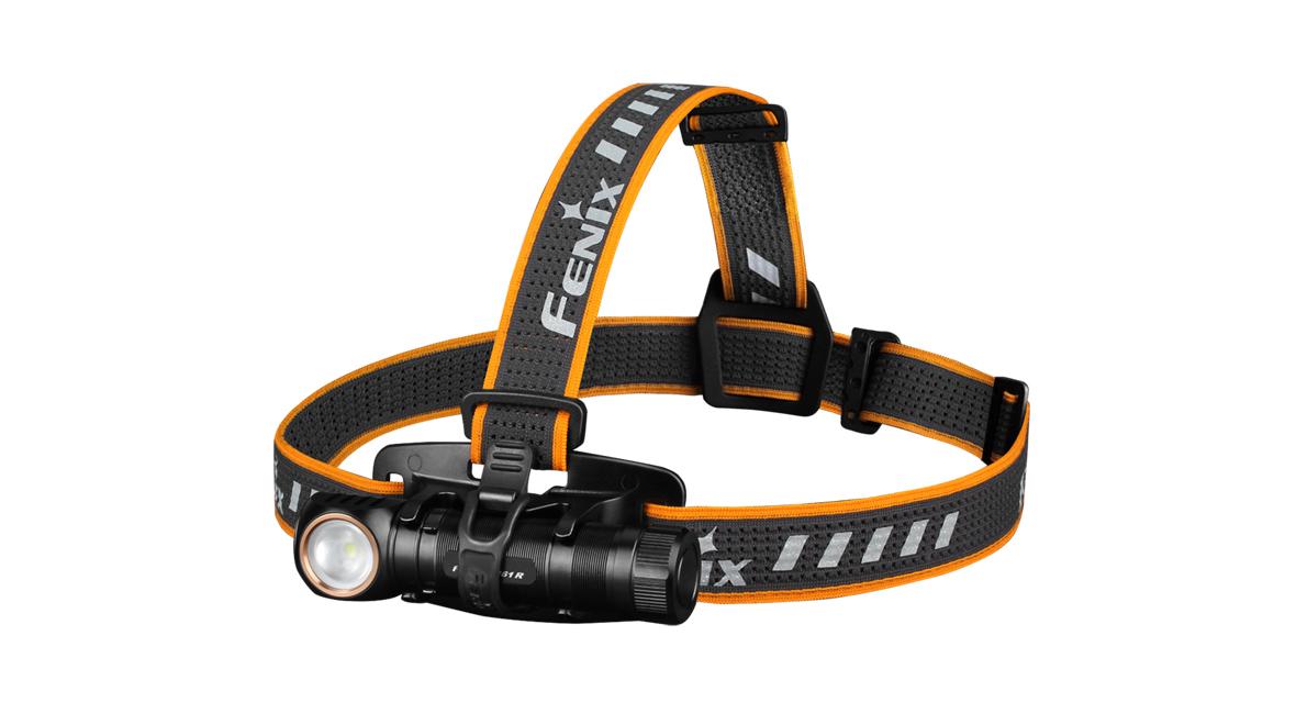 Nabíjecí čelovka Fenix HM61R Amber